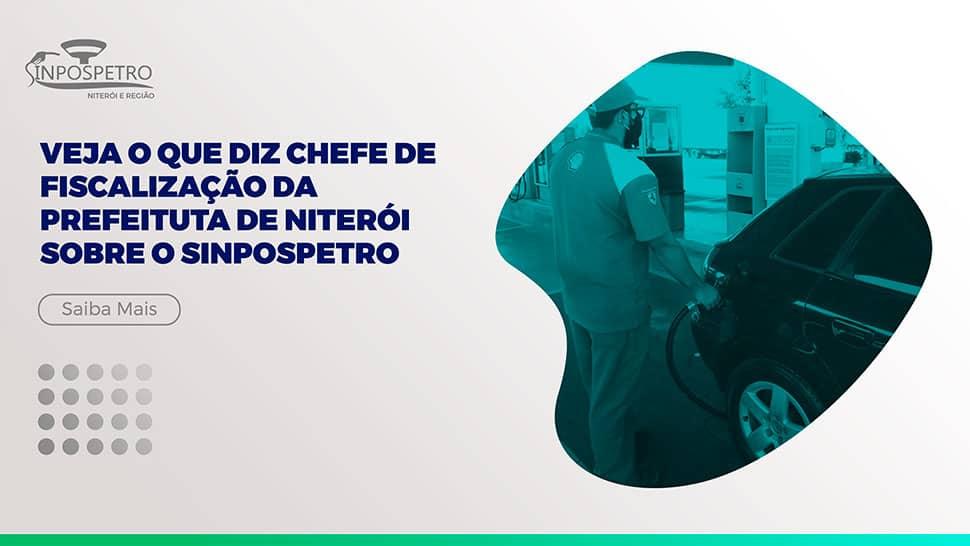 Chefe de Fiscalização de Niterói afirma: Sinpospetro tem importante papel no esclarecimento aos trabalhadores