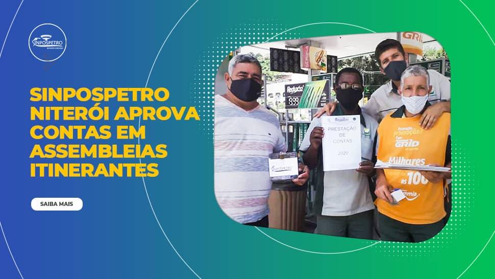 Por mais um ano, SINPOSPETRO Niterói e Região aprova contas em assembleias itinerantes