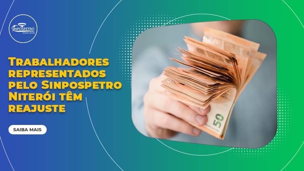 Trabalhadores representados pelo SINPOSPETRO Niterói e Região têm reajuste