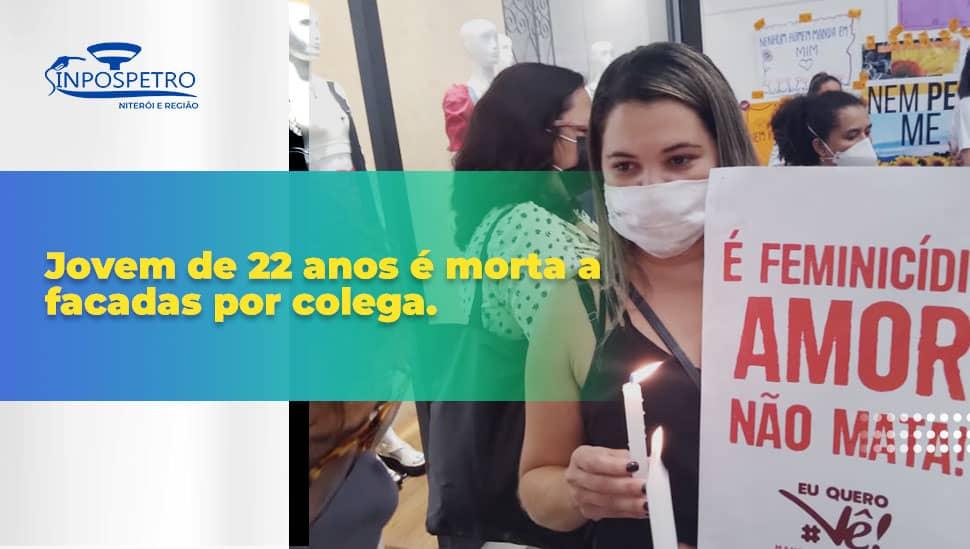 SINPOSPETRO Niterói e Região participa de ato contra feminicídio