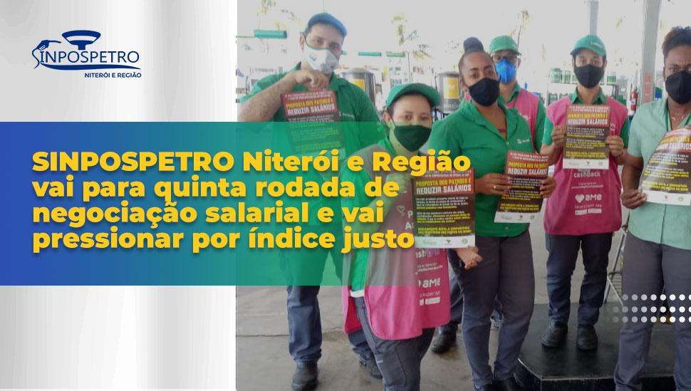 SINPOSPETRO Niterói e Região vai para quinta rodada de negociação salarial e vai pressionar por índice justo