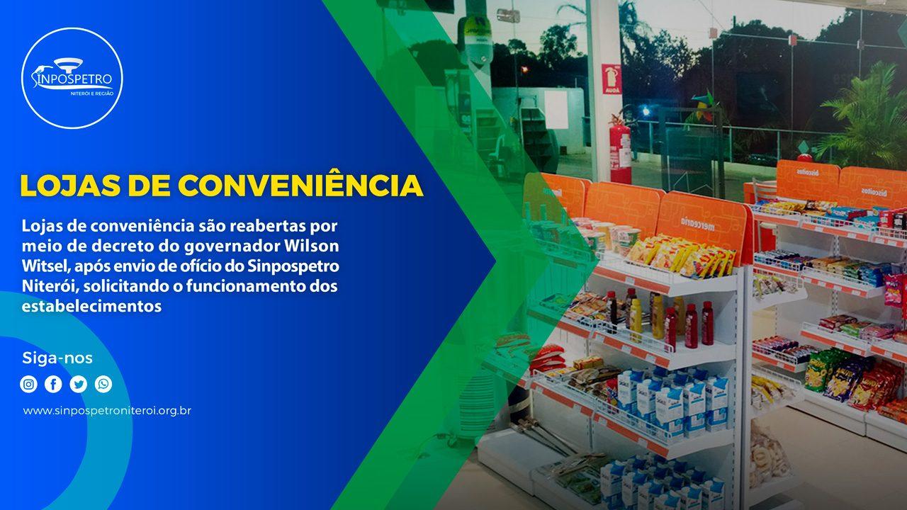 Governador do Rio de Janeiro perrmite por meio de decreto a abertura de lojas de convenîencia sinpospetro niterói