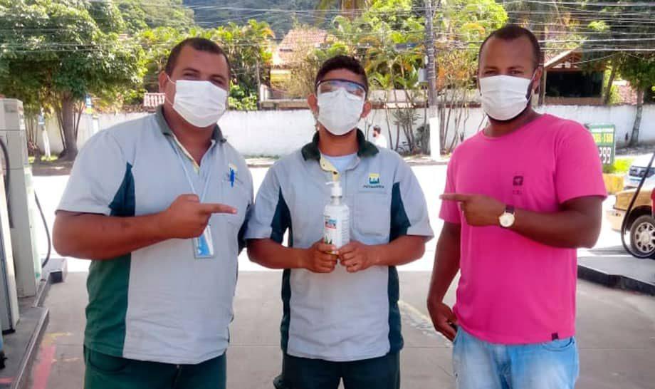Sinpospetro Niterói e Região realiza fiscalizações para averiguar condições de trabalho durante a Pandemia